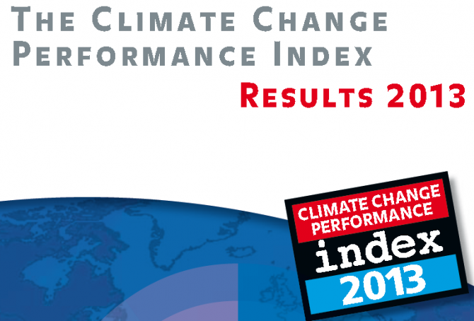 Climate Change Performance Index 2013