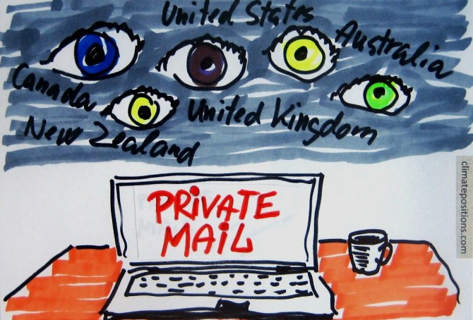 Five Eyes Alliance is watching you