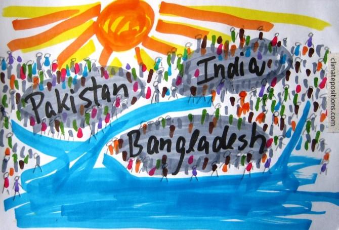 Climate performance of India, Pakistan and Bangladesh