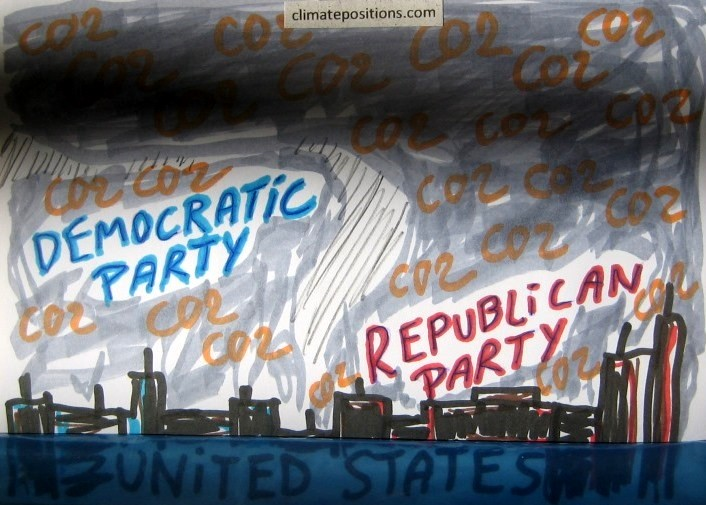 United States: Republican states double up in CO2 Emissions compared to Democratic states