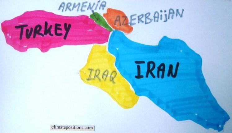 Climate change performance: Iran versus Turkey