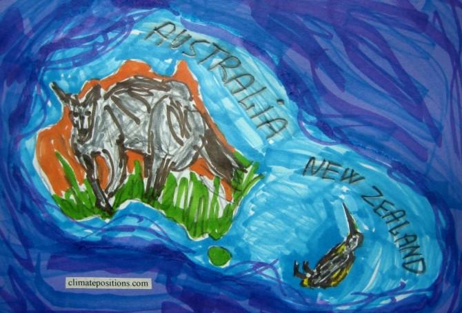 Climate change performance: Australia vs. New Zealand