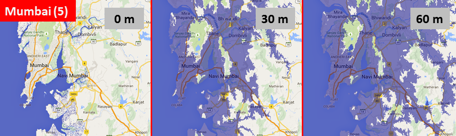 Sea level, Mumbai
