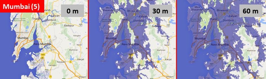 Sea level, Mumbai