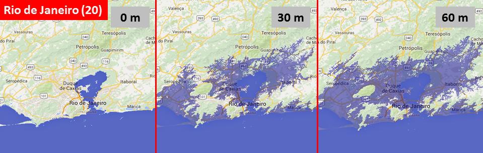 Sea level, Rio de Janeiro