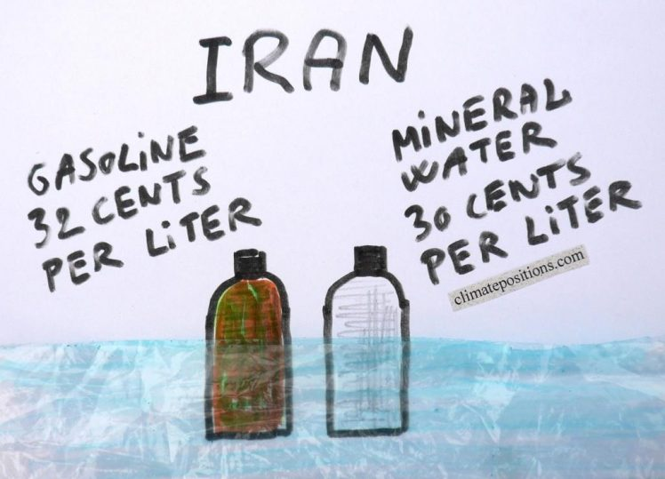 Climate Debt: Iran ranks 33rd (performance of the twenty most populous Muslim countries)