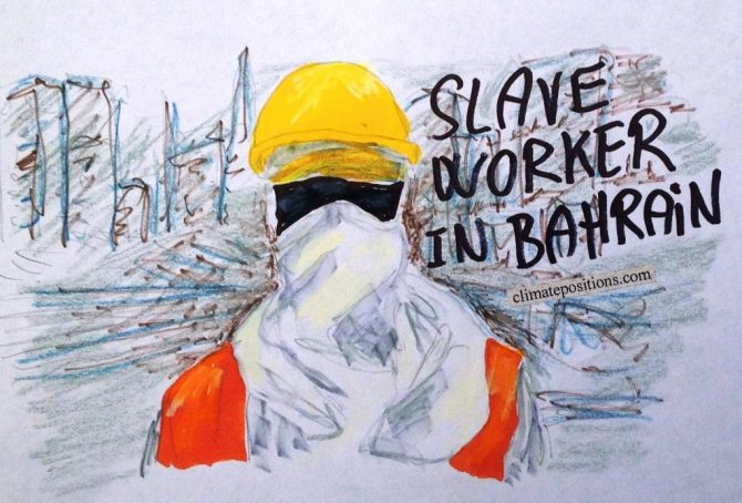 Climate Debt: Bahrain ranks 12th (immigrant workers reduce per capita CO2 Emissions)