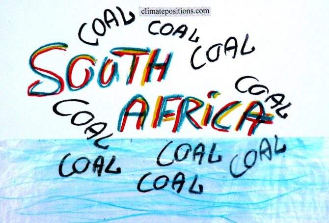 South Africa – the world's 13th largest CO2 emitter (coal, coal and more coal … and inequality)