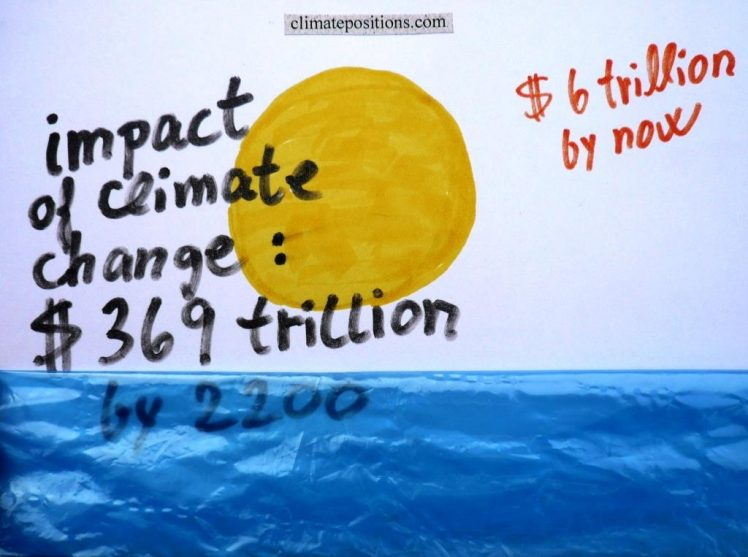 Predicted impact of climate change: $369 trillion by 2200 (study)