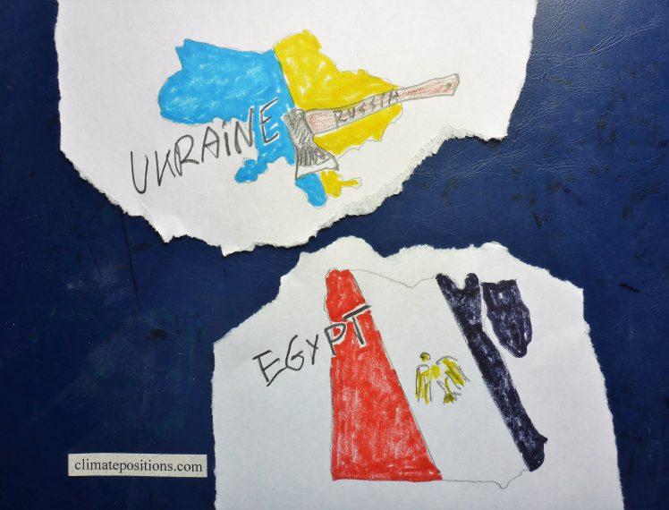 Climate change performance: Egypt vs. Ukraine