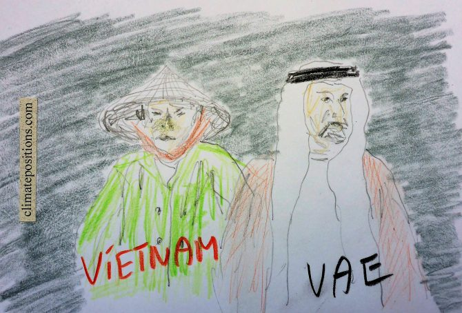Climate Change Performance: Vietnam vs. United Arab Emirates (UAE)