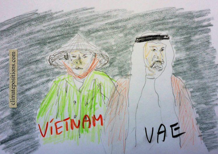 Climate Change Performance: Vietnam vs. United Arab Emirates (UAE)