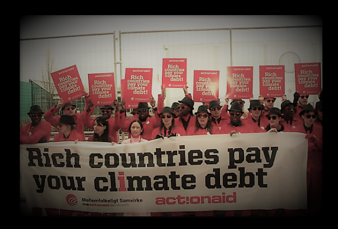 Climate change performance: 62 countries without Climate Debt (compared to Boycott Group A & B)