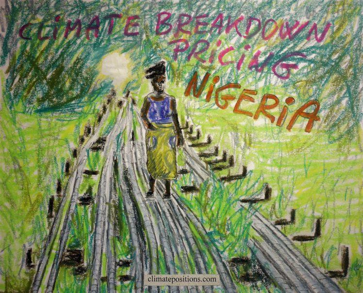Nigeria – per capita Fossil CO2 Emissions (zero Climate Debt)