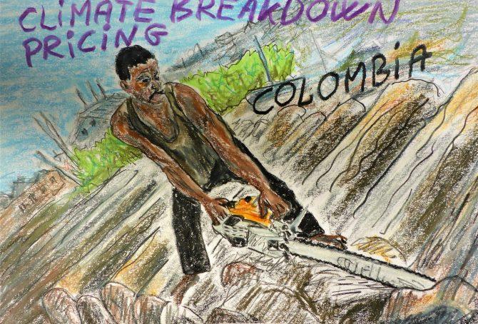 Colombia – per capita Fossil CO2 Emissions (zero Climate Debt)