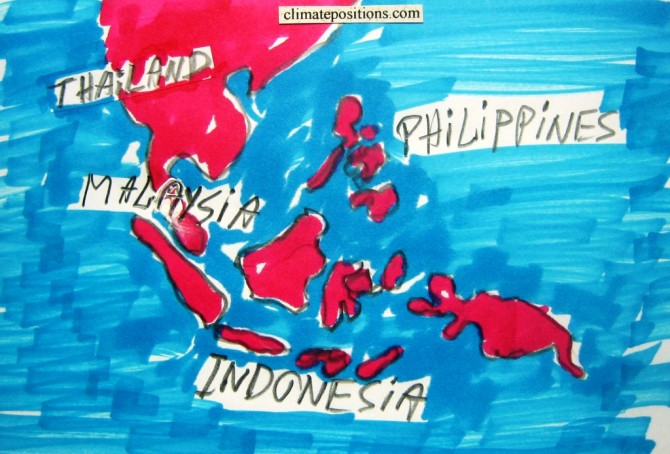 Climate change performance of Malaysia, Thailand, Indonesia and the Philippines