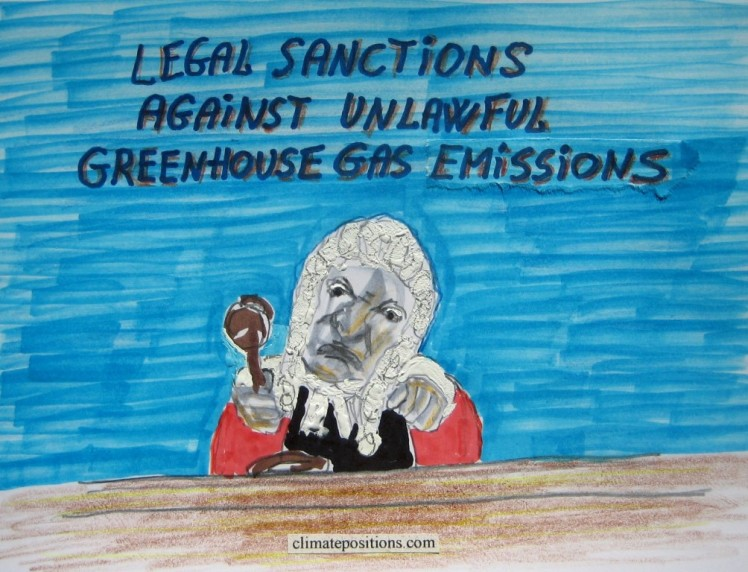 Oslo Principles on obligations to reduce climate change (time for legal sanctions)