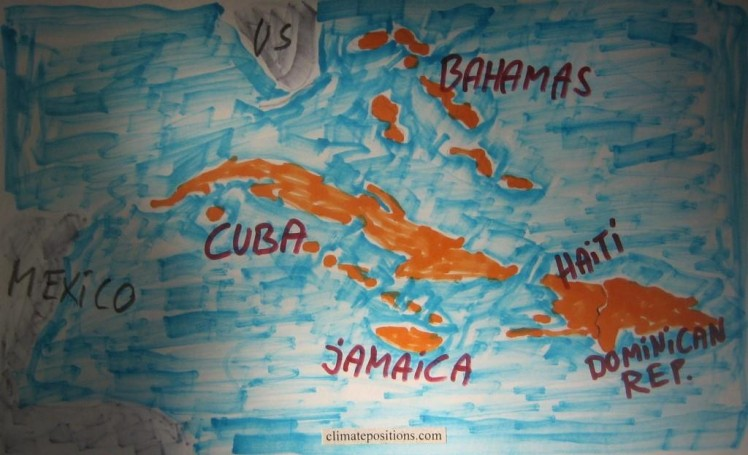 Climate change performance of Jamaica, Cuba, Haiti, the Dominican Republic and the Bahamas