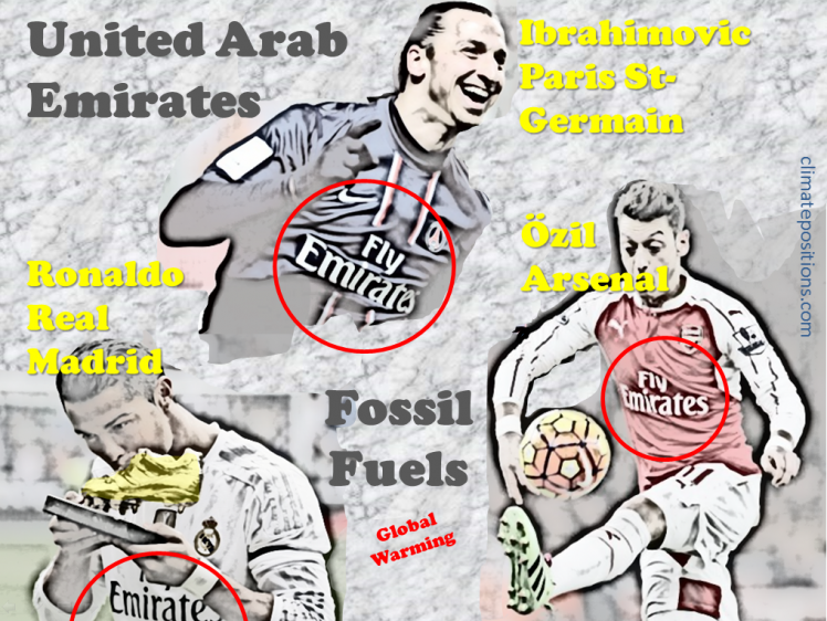 Climate Debt: The United Arab Emirates ranks 4th (climate destruction branded by sports!) … soon with Nuclear Power