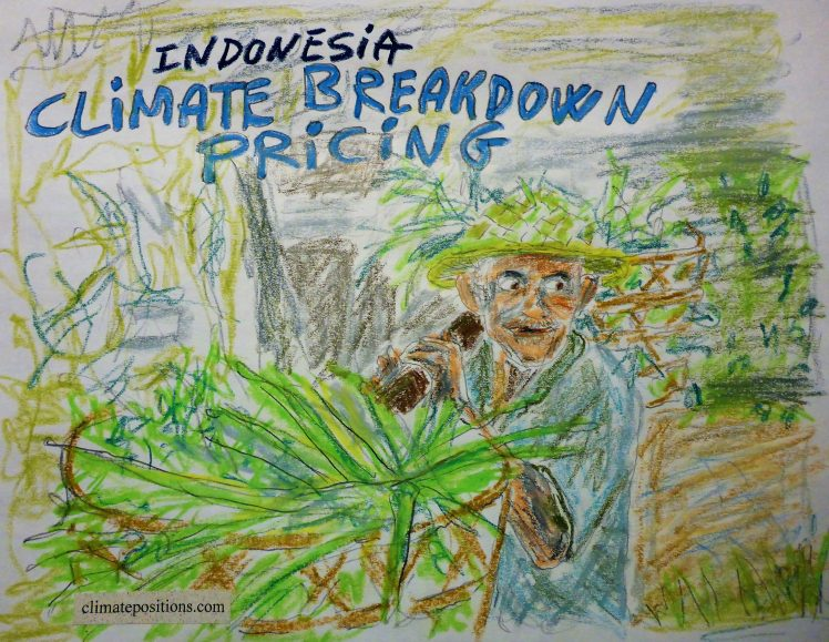 Indonesia – per capita Fossil CO2 Emissions and Climate Debt