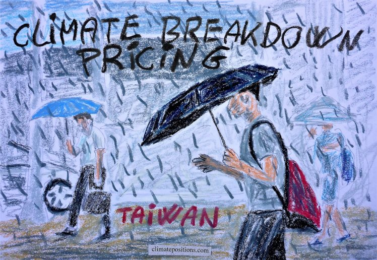 Taiwan – per capita Fossil CO2 Emissions and Climate Debt (estimated)