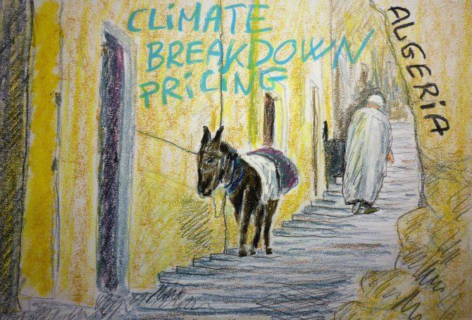Algeria – per capita Fossil CO2 Emissions and Climate Debt