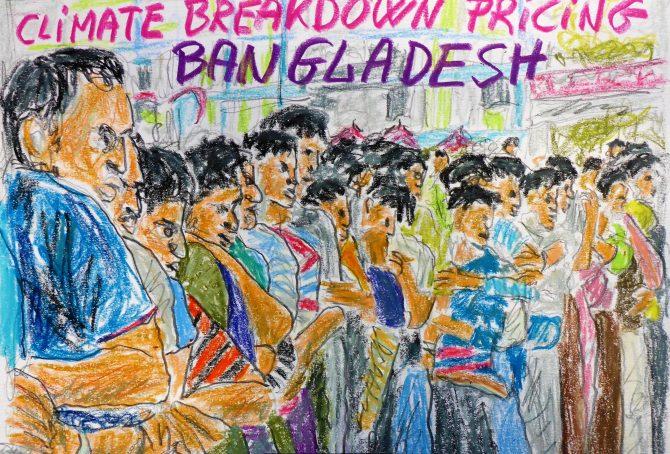 Bangladesh – per capita Fossil CO2 Emissions (zero Climate Debt)