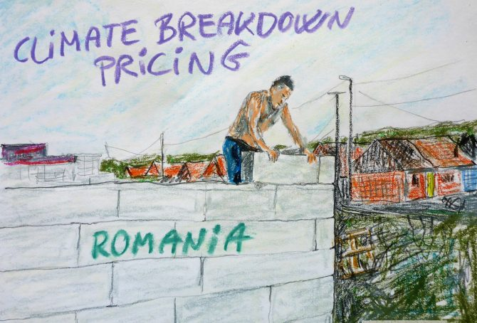 Romania – per capita Fossil CO2 Emissions and Climate Debt